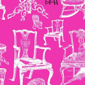 chairs: magenta