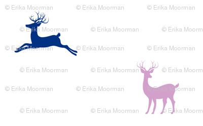 Deer 414 - purple passion