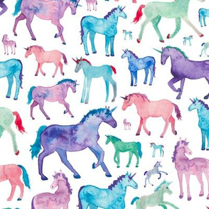 Pastel Unicorn Pattern