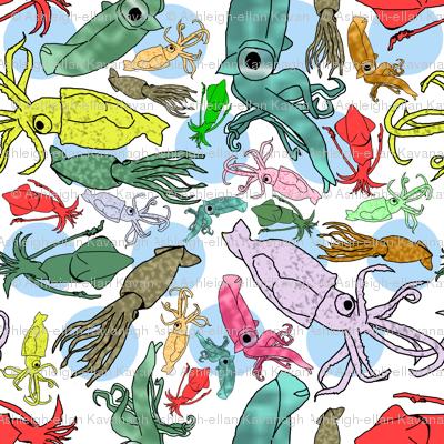 Squid Colours #1 (Large Print)