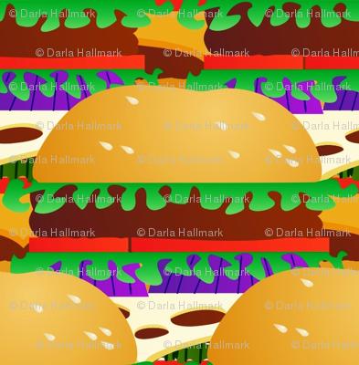 Swiss cheese burgers