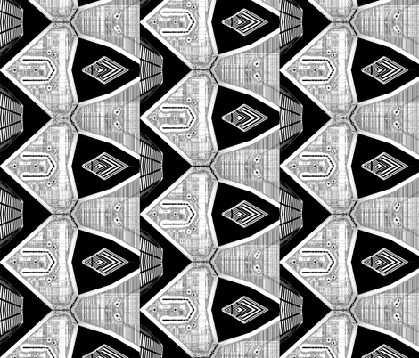 Architectural Art fabric by lr10 on Spoonflower - custom fabric