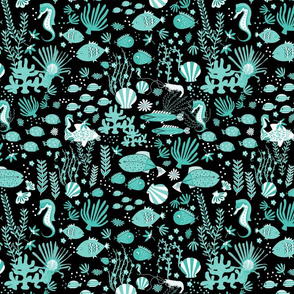 Turquoise Under The Sea