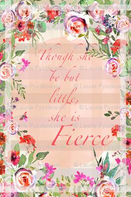 Baby Girl Crib Blanket Watercolor Roses