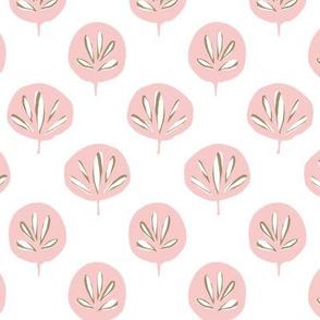 Fan Leaf - Rose & Sand