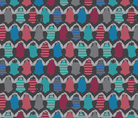 Sisterhood of Knitters fabric by beckarahn on Spoonflower - custom fabric