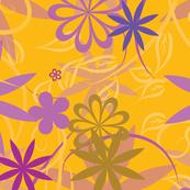 Bright Vector floral