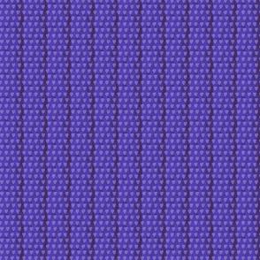 Violet hearts on Dark Blue