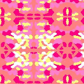 Maridadi  2 in Pink, Yellow & White