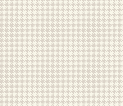 Houndstooth - Neutral, Ivory fabric by fernlesliestudio on Spoonflower - custom fabric