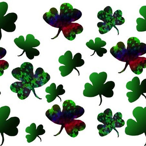 St Patty's Rainbow  Cluster Medley