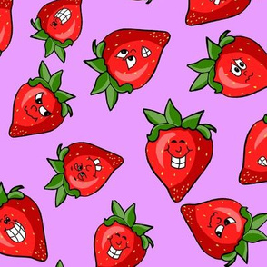 Strawberry Pile - larger size