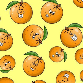 Orange Pile - larger size