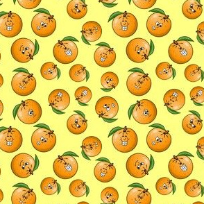 Orange pile - smaller size