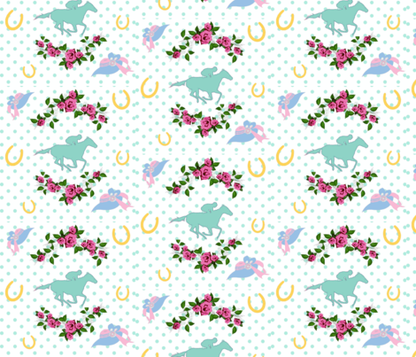 Run for the Roses fabric by new_earth_baby on Spoonflower - custom fabric