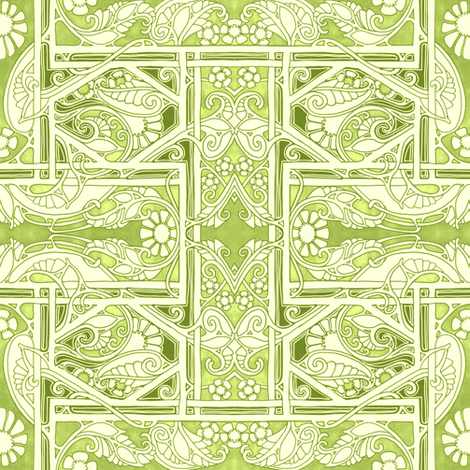 Forward to Yesterday fabric by edsel2084 on Spoonflower - custom fabric