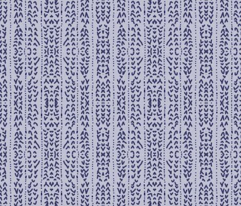 blue linen fabric by heikou on Spoonflower - custom fabric