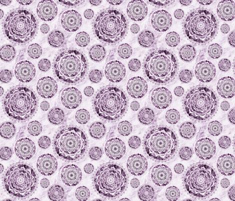 mandala monochrome fabric by pearlposition on Spoonflower - custom fabric