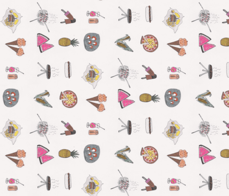summertimefun fabric by inlanddesign on Spoonflower - custom fabric