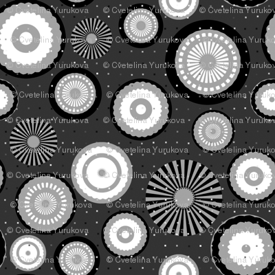 Monochrome Circles