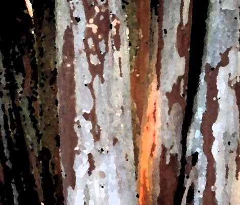Country bark fabric by mvbartdesign on Spoonflower - custom fabric