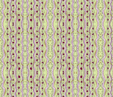 striped dots-green fabric by unclemamma on Spoonflower - custom fabric