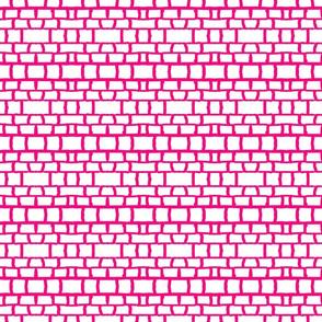 Maridadi 12 in Pink & White