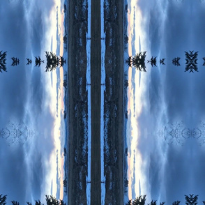 Trippy merrill snow clouds