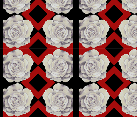 rose_rows fabric by denisedian on Spoonflower - custom fabric