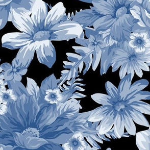 Vintage Dream Cerulean Black