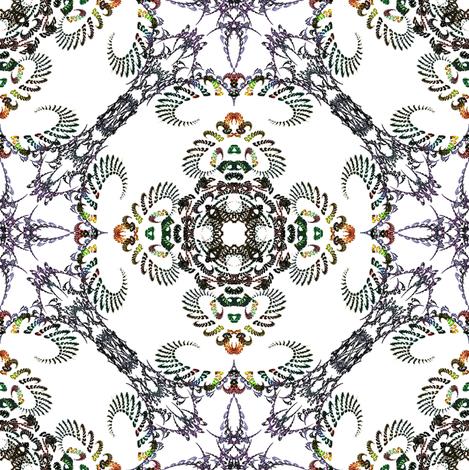 Fractal 1105 fabric by summitseeker on Spoonflower - custom fabric