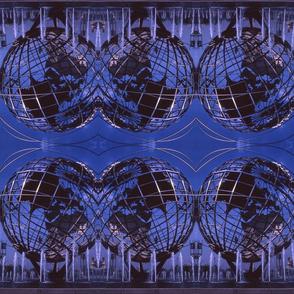 Blue Unisphere Kodachrome