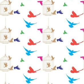 Dancing Magic Birds