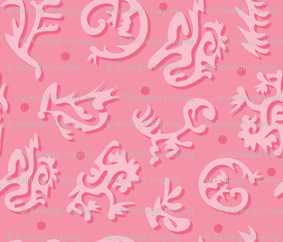 Tribal Bodies - Monochrome Spoonflower-01