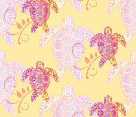 Turtle Express fabric by adrianne_vanalstine on Spoonflower - custom fabric