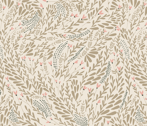 sugarspice fabric by mintedtulip on Spoonflower - custom fabric
