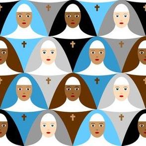07338665 : sisterhood : flock of nuns
