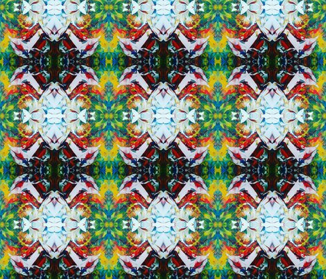 Reiki ~ SHK #3  fabric by elisasoulartist on Spoonflower - custom fabric