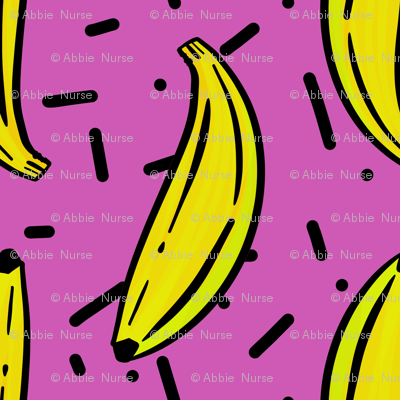 Banana Jazz Purple