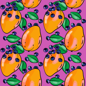 Mango Fandango Purple