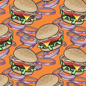 Burgers 'n Onions Tangerine