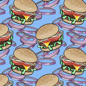 Burgers 'n Onions Blue
