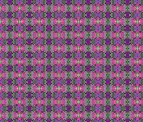 purple and fushia flowers fabric by crafters_b_crazy on Spoonflower - custom fabric