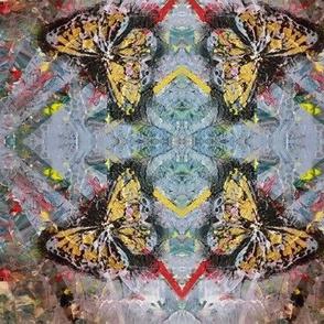 Butterflies Blossoms