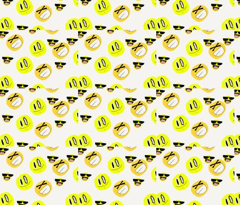Y'ello fabric by vissolela_ on Spoonflower - custom fabric