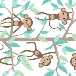 Monkey Jungle - rotated