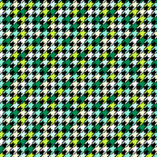 Dogtooth Multi (Mint Emerald & Chartreuse)