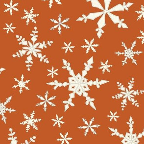 Snowflakes - Ivory, Ginger