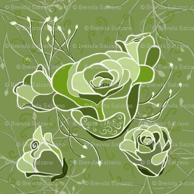 Exotic Esmeralda Green