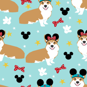 corgi theme park dog